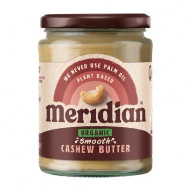 Meridian Organic Smooth Cashew Butter 170g