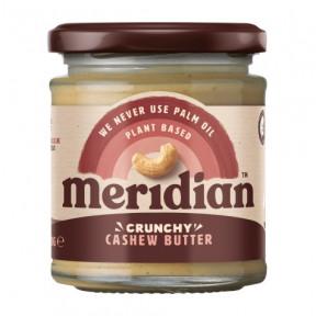 Mantequilla de Anacardo crujiente Meridian 170g