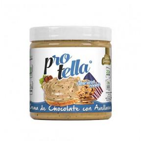 Crema proteica de chocolate con avellanas sabor American Cookie 250g