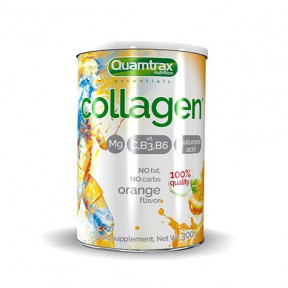 Colágeno con Magnesio sabor Naranja Quamtrax 300g en polvo