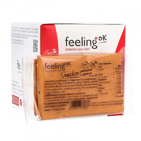 FeelingOk Snacker Toast lowcarb avec tomate et paprika Start 50g