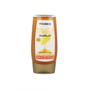 Sirop de Fruits et Fibres Saveur de Citron Weider 250ml