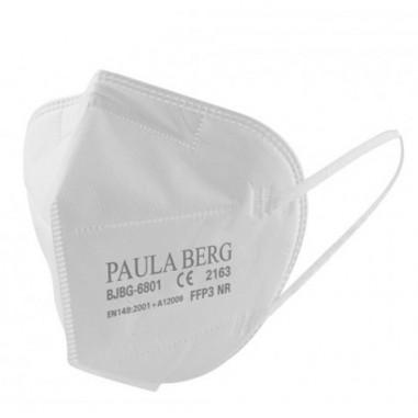 Mascarilla FFP3 Paula Berg norma EN149:2001 Filtrado Respiratorio marcado CE