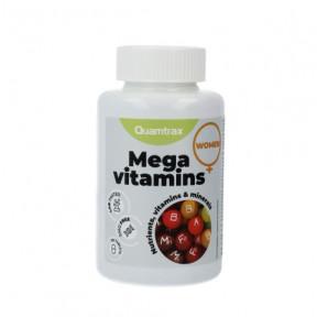 Multivitamínico Mega Vitaminas para Mulheres Essentials Quamtrax 60 comprimidos