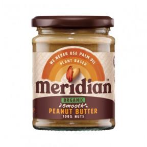 Beurre d'Arachide Biologique Doux Meridian 280g