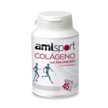 Colágeno con Magnesio Amlsport 270 Comprimidos