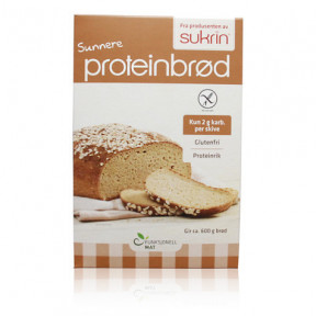 Preparado para Elaborar Pan Proteico con Avena y Sésamo (Proteinbrød) Sukrin 220g