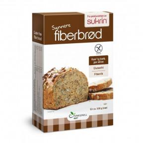 Préparé pour le Pain Riche en Fibres avec des Graines (Fiberbrød) Sukrin 250g