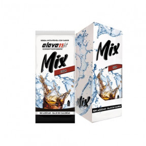 Pack of 12 Envelopes ElevenFit Cola Flavor Mix Drinks 9g