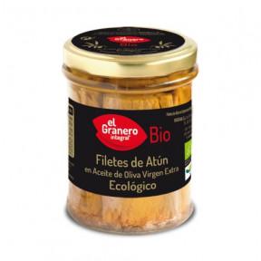 Filetes de Atum em Azeite Extra Virgem Orgânico El Granero Integral 195g