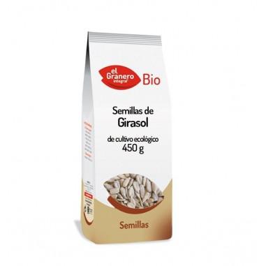 Semillas de Girasol de Cultivo Ecológico El Granero Integral 450g