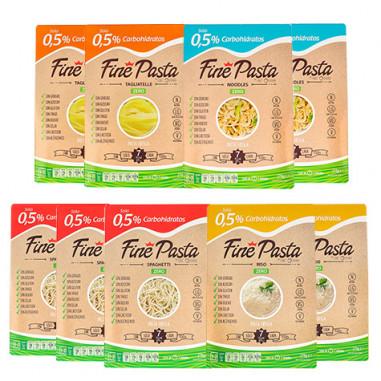 Pacote de Iniciantes Fine Pasta (9 pacotes)