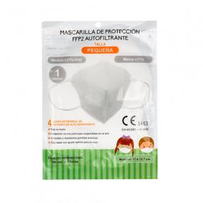 Mascarilla Infantil FFP2 norma EN149:2001 filtrado respiratorio marcado CE