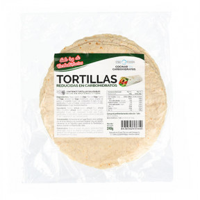Tortillas Reducidas en Carbohidratos CSC Foods 240g (6x40g) gratis