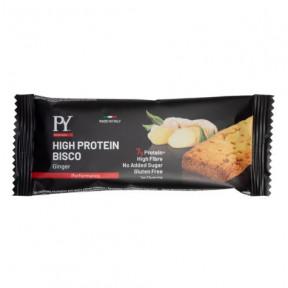 Biscuit Protein Massa Alta Proteína Bisco Gengibre Sabor jovem 37g grátis em encomendas superiores a € 39