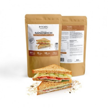 Bocado Functional Foods Low Carb Sandwich Mix 500g