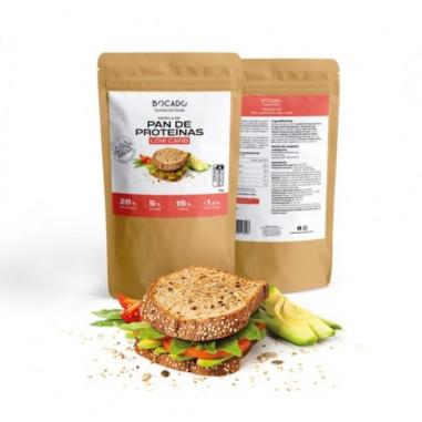 Preparado para Pan de Proteínas Low Carb de Bocado Functional Foods 1kg