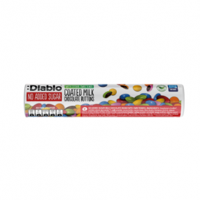 :Diablo Sugar-Free Coated Milk Chocolate Button 22g