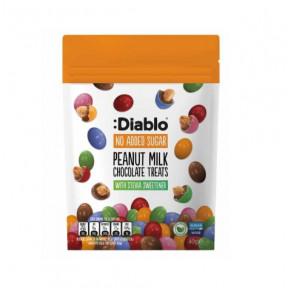 :Diablo Sugar Free Milk Chocolate Peanut Treats 40g