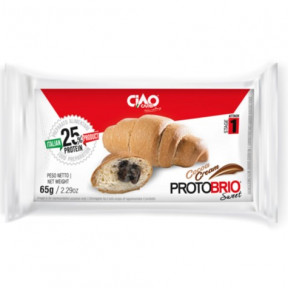 Croissant fourré au chocolat CiaoCarb Protobrio Phase 1 65g