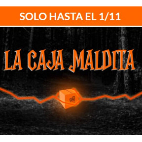 "Kit Sorpresa ""La Caja Maldita"" para Halloween gratis con todos los pedidos"