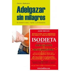 Pack livres Adelgazar sin Milagros et La Isodieta