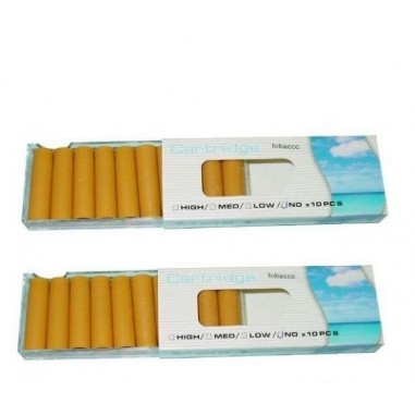 Electronic Cigarette Refills Cartridges - No Nicotine/Mint (20-P)