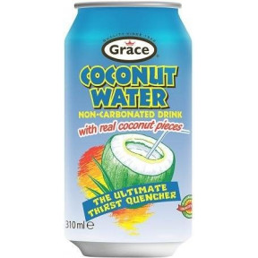 Coconut Water with real coconut pieces 310 ml