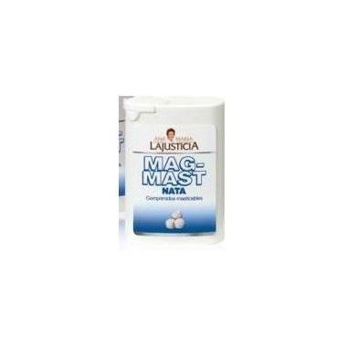 Mag-Mast Cream Flavor Chewable Tablets Ana María Lajusticia