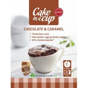 Bizcocho en Taza Chocolate & Caramelo 75 g