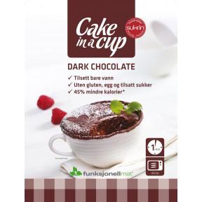 Mug Cake Sukrin Chocolat Noir 75 g