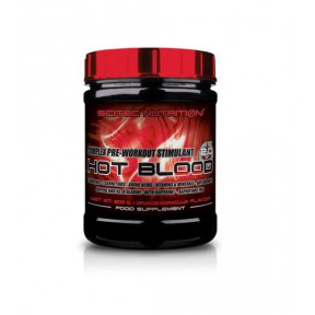 Hot Blood 3.0 Complexe Stimulant Pre-Entraînement Goût Orange sanguine, Scitec Nutrition