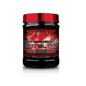 Hot Blood 3.0 Pre-Workout Stimulant Complex Guarana Scitec Nutrition 820 g