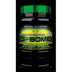 Glutamine G-BOMB 2.0 Scitec Nutrition Thé Glacé 308 g