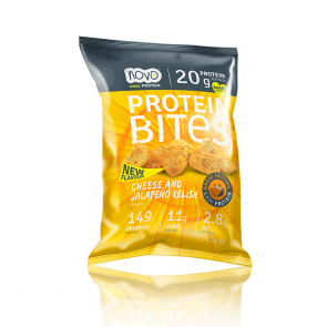 Protein Bites Bocaditos Chips Queso y Jalapeños 40 g