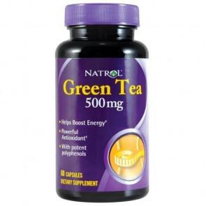 Capsules de Thé Vert Natrol 500 mg 60 capsules