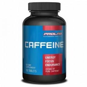 Cápsulas de Cafeína Pura Prolab 200 mg