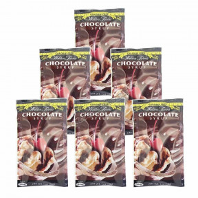 Walden Farms Chocolate Syrup, individual packet of 60 ml