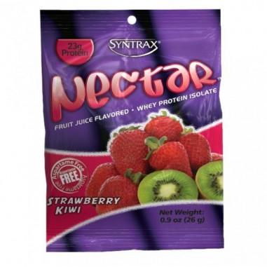 Syntrax Nectar Grab N'Go Whey Protein Isolate Sabor Fresa Kiwi 27 g