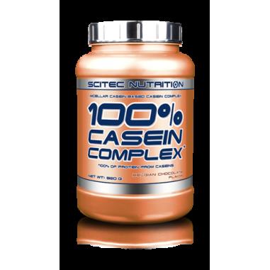100% Casein Complex Chocolat Belge Scitec Nutrition 920g
