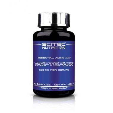 Tryptophan Aminoácido Esencial Scitec Nutrition, 60 Cápsulas