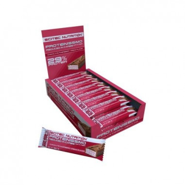 Barrita Low-Carb Proteinissimo Frambuesa-Chocolate de Scitec Nutrition