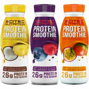 Shake de proteína Framboesa e Mirtilo de Scitec Nutrition