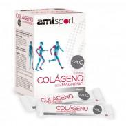 FBA Colágeno Con Magnesio +Vitamina C Sabor Fresa AMLSport 20 Sticks