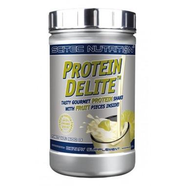Shake Protéiné Protein Delite avec morceaux goût Vanille et Ananas de Scitec Nutrition 500 g