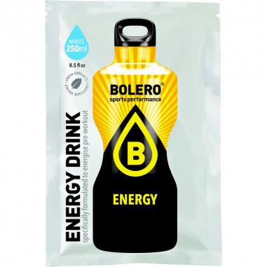 Boissons Bolero goût Boost Energy 9 g