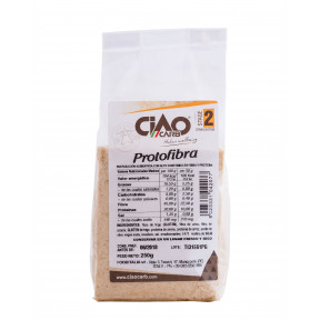 Migalhas de pão substitutos CiaoCarb Protofibra Etapa 2 250 g