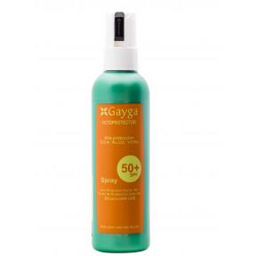 Protetor solar FPS 50 + de alta proteção com Aloe Vera 200ml Gayga