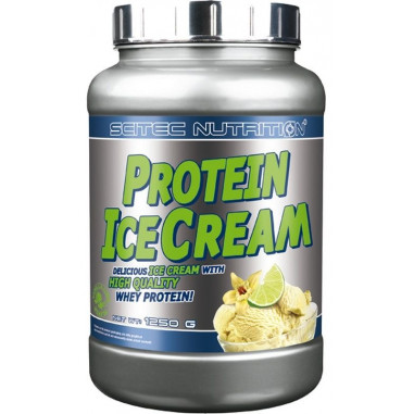 Protein Ice Cream Light Vanille-citron vert Scitec Nutrition 1250g