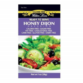 Walden Farms Honey Dijon Dressing 6 packets of 28 g